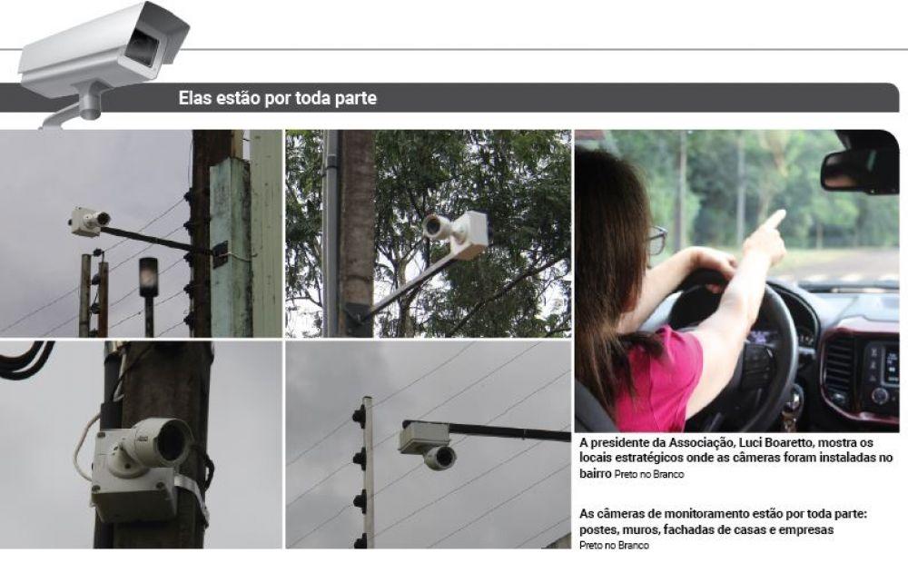 Câmeras no Maria Luiza